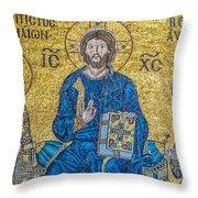 Hagia Sofia Mosaic 09 Throw Pillow