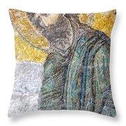 Hagia Sofia Mosaic 12 Throw Pillow