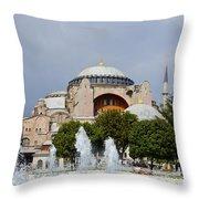 Hagia Sofia Throw Pillow