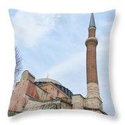 Hagia Sophia 14 Throw Pillow