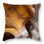 Hagia Sophia Arch Mosaics Throw Pillow