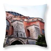 Hagia Sophia Buttresses Throw Pillow