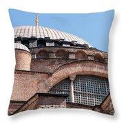 Hagia Sophia Curves 01 Throw Pillow