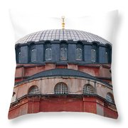 Hagia Sophia Curves 02 Throw Pillow