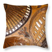 Hagia Sophia Dome 01 Throw Pillow
