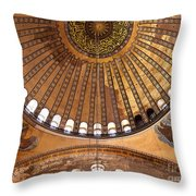 Hagia Sophia Dome 02 Throw Pillow