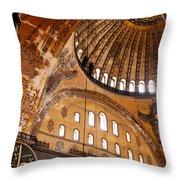 Hagia Sophia Dome 03 Throw Pillow