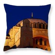 Hagia Sophia Evening Throw Pillow