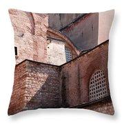 Hagia Sophia Walls 02 Throw Pillow
