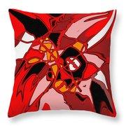 Haida Absract Throw Pillow