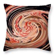 Haida Spiral Throw Pillow