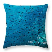 Haiku For The Broken-hearted Throw Pillow