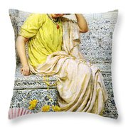 Hairpins Throw Pillow