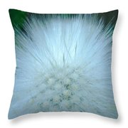 Hairy Plant Throw Pillow