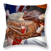 Haitian Hands Throw Pillow