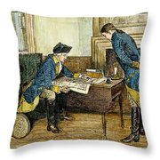Hale & Washington In Nyc Throw Pillow