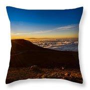 Haleakala Burst Throw Pillow