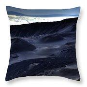 Haleakala Crater Hawaii Throw Pillow