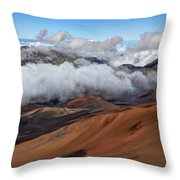 Haleakala Meaning House Of The Sun Throw Pillow