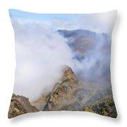 Haleakala Mists Throw Pillow