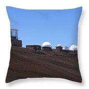 Haleakala Observatory Haleakala National Park Throw Pillow