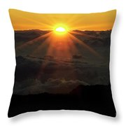 Haleakala Sunrise Throw Pillow