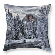 Half Dome 1 Throw Pillow