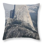 Half Dome Glacier Point Throw Pillow