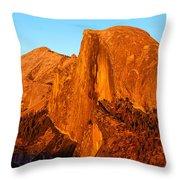 Half Dome Glow Throw Pillow