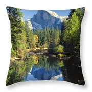 2m6708-half Dome Reflect Throw Pillow