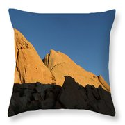 Half Moon At Garden Of The Gods Throw Pillow
