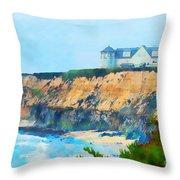 Half Moon Bay 2 Throw Pillow