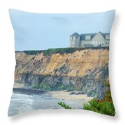 Half Moon Bay Throw Pillow