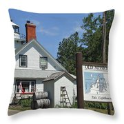 Halfway To The Pole Throw Pillow