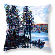 Haliburton Morning Throw Pillow