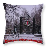 Halifax Christmas Throw Pillow
