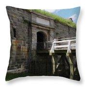 Halifax Citadel Throw Pillow