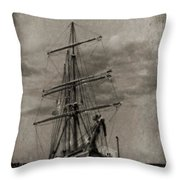 Halifax Harbour Throw Pillow