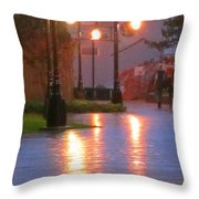 Halifax Romance Throw Pillow