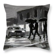 Halifax Untitled Number Five  Throw Pillow