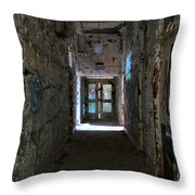 Hall Of Unknown Throw Pillow