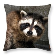 Hallo My Name Is Henry Throw Pillow