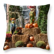 Halloween Celebrations Throw Pillow