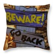 Halloween II Throw Pillow