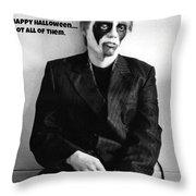 Halloween Let Down Throw Pillow