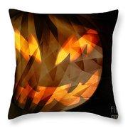 Halloween Moon 2 Throw Pillow
