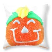 Halloween Pimpkin Sweet Throw Pillow