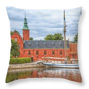Halstad Castle 03 Throw Pillow