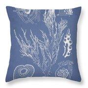 Halymenia Formosa And Eucheuma Spinosum Throw Pillow