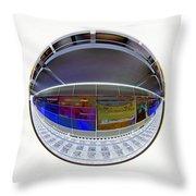 10387 Hamburg U1 Luebecker Strasse Throw Pillow